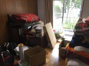 【2LDK】千葉県習志野市:家財整理作業の施工前