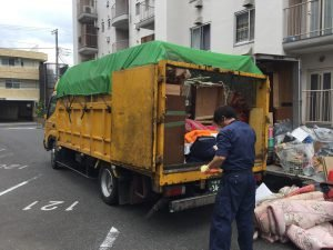 【2LDK】千葉県習志野市:家財整理作業の施工後