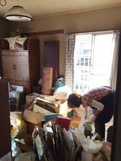 千葉市若葉区のマンションでの遺品整理の施工前