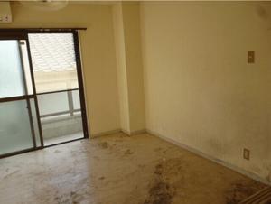 長年放置されていた部屋のゴミ屋敷清掃の施工後