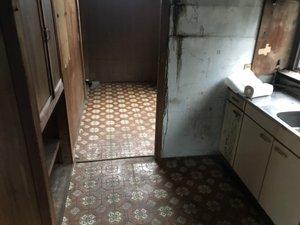 二階建てで家財の搬出が難しい場合もお任せください。の施工後
