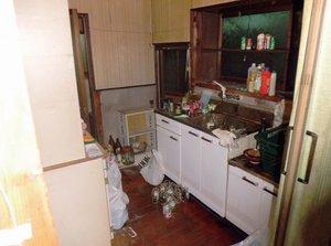施設の入居による家財道具の片付けのご依頼の施工前