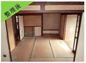 【3LDK】孤独死物件の遺品整理と特殊清掃:309,700円の施工後