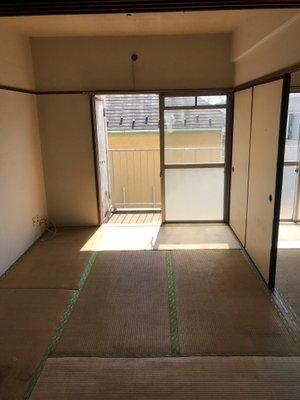 【間取り2K・作業料金20万円】引っ越しの際のお部屋片付け、清掃の施工後