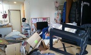 【1R】物が溢れた中での遺品整理【198,000円】の施工前