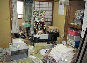 遠方からの遺品整理・特殊清掃のご依頼【330,000円】の施工前