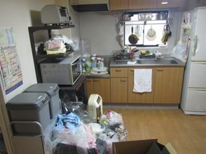 【3DK】同居に伴う生前整理【185,000円】の施工前