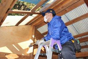 空き家整理と物置の解体の施工前