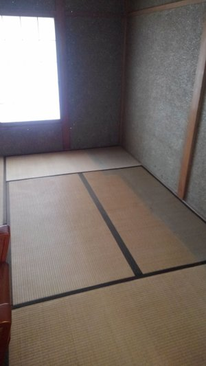 6畳の部屋の片付けの施工後