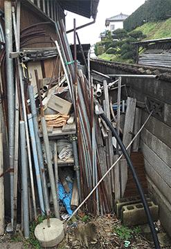 思い入れのある作業小屋での整理【160,000円(税別)】の施工前