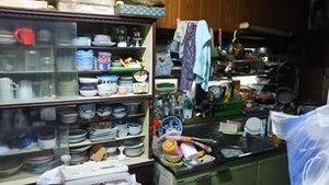 長崎県の不用品回収(キッチン)の施工前