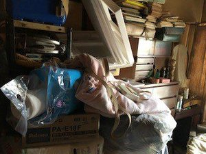 【3K】衣類や書類の多い現場でしたの施工前
