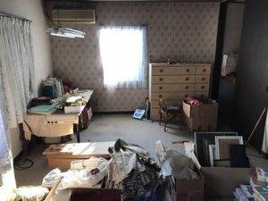 マンションの遺品整理の施工前