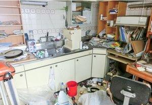 【1DK】越谷市での遺品整理:360,000円の施工前
