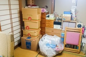 【1R】北葛飾郡杉戸町での遺品整理:81,000円の施工前