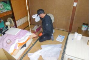 東松山市での遺品整理:235,000円の施工前