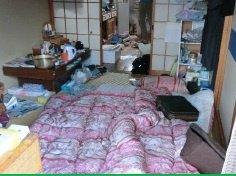 【1LDK】アパートでの遺品整理の施工前