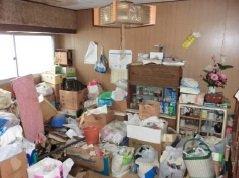 【3DK】一軒家での生前整理の施工前