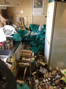部屋のゴミをどうしてよいか分からない場合はご相談ください。の施工前