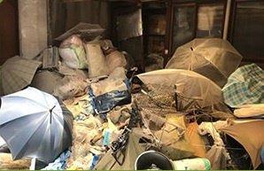 家一軒分の不用品まるごと回収の施工前