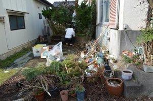 高岡市、解体予定の遺品整理のご依頼の施工前