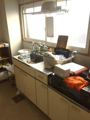 【3DK】1人暮らしの男性のお部屋での作業の施工前