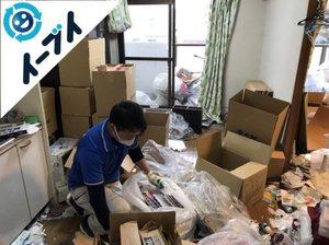 生ゴミや生活用品の多いゴミ屋敷の施工後