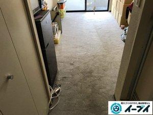 汚部屋状態のゴミ屋敷清掃の施工後