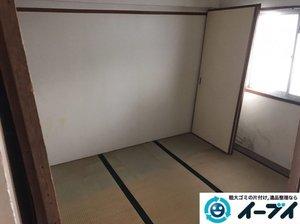 婚礼家具・粗大ごみの処分と遺品整理の施工後