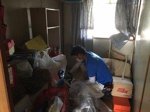 遺品整理にともなう家財処分の施工前