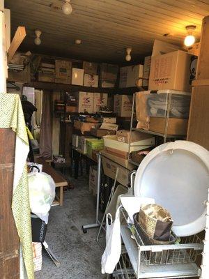 東京都杉並区での遺品整理の施工前