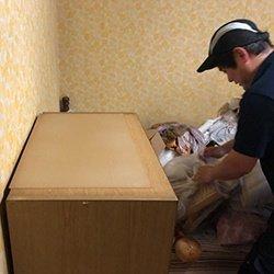ごみ屋敷清掃の事例の続きです。の施工前
