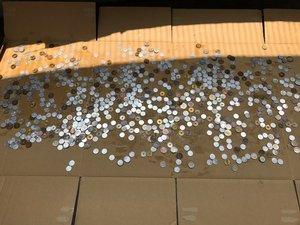 【1LDK】多くの現金が見つかりました  ※写真はどちらも作業中のものですの施工後