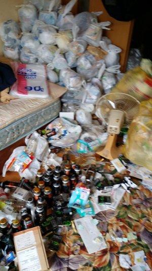 【1LDK】腰の高さまでゴミが積もっていました【80,000円】の施工前