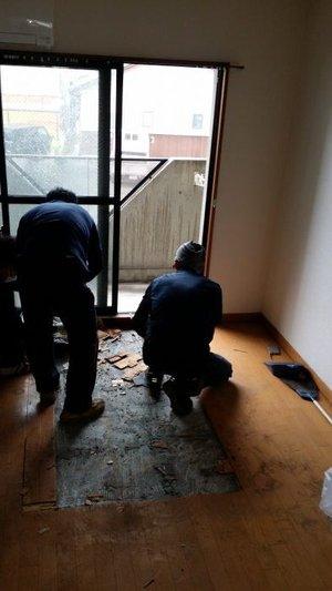 【1K】アパートの片付けと特殊清掃【180,000円】の施工後