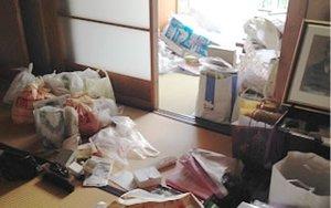 【1K】名古屋市の遺品整理:38,000円の施工前