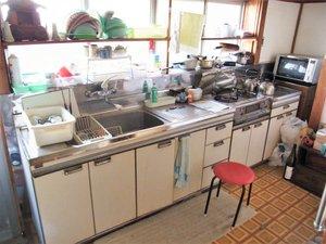 沼田市の事例の続き2です。(キッチン・台所)の施工前