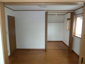 別室の作業の様子です。の施工後