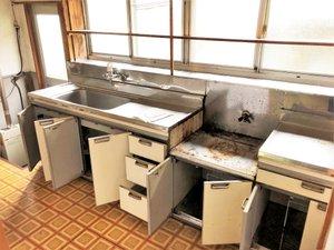 沼田市の事例の続き2です。(キッチン・台所)の施工後