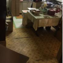 板橋区、戸建ての遺品整理・生前整理の施工前