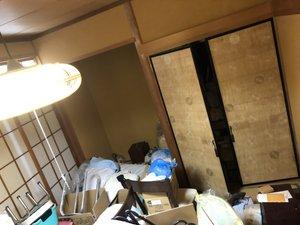 空き家整理の施工前