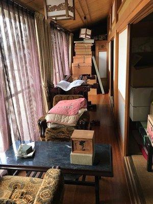 おじい様のお部屋のご遺品整理などの施工前
