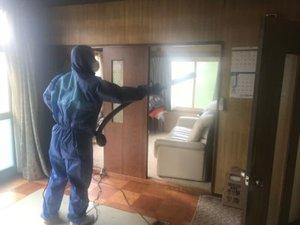 当麻町にて孤独死現場の特殊清掃・遺品整理をおこないました。の施工後