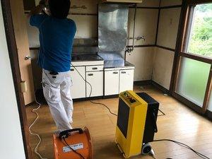 孤独死現場の清掃と消臭作業の施工後