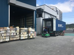 リカバリーグループでは回収したものを自社倉庫で分別し、リユースしています。の施工前