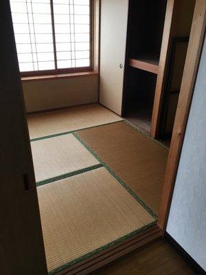 岡山市北区下伊福の事例5:寝室の家財整理の施工後