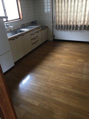 岡山県浅口市鴨方 老人ホーム入居に伴う全回収作業(1LDK)の施工後