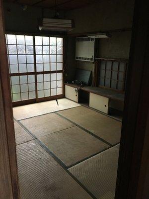 岡山市北区下伊福の事例3:別室の施工後