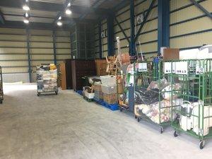 リカバリーグループでは回収したものを自社倉庫で分別し、リユースしています。の施工後