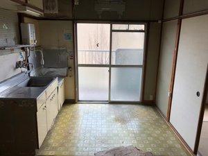広島県福山市 市営アパート 遺品整理の施工後